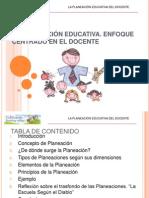 Planeacion Educativa 2013