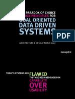 Goal Based Data Driven Design347
