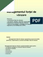 T7 - Managementul Fortei de Vanzare