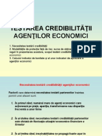 T9 - Testarea credibilitatii
