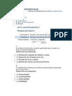 Leccion Evaluativa 2 Sistemas Agroforestales