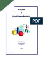 Apostila Prob e Estatistica - Sistemas e Ciencias - 2013