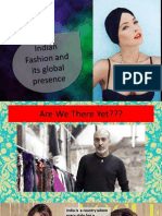 Indian Fashion and Its Global Presence