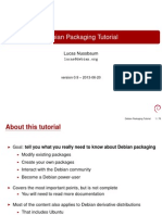 Debian Packaging Tutorial