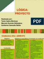 PROYECTO DE LÓGICA (CAPACITACIÓN)