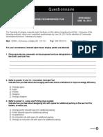 June 18 Latimer Open House Questionnaire