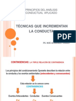 Analisis Conductual y Modificacion de Conducta