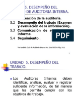 Curso de Auditoria IV Unidades 5, 6 y 7