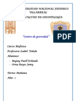 Centro de Gravedad Monografia