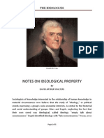 Notes on Ideological Property