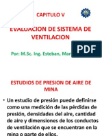 Capitulo v Evaluacion Sist. Ventilacion Pptx