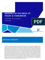 HUL Presentation - Winning in India