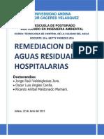Remediacion de Aguas Residuales Hospitalarias