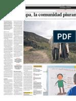Chilcapama. Quechua en Piura.