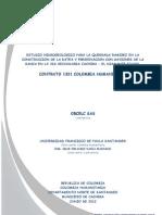 Estudio Hidrogeologico Microcuenca Ramirez
