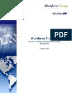 Aberdeen Group_Workforce Analitycs