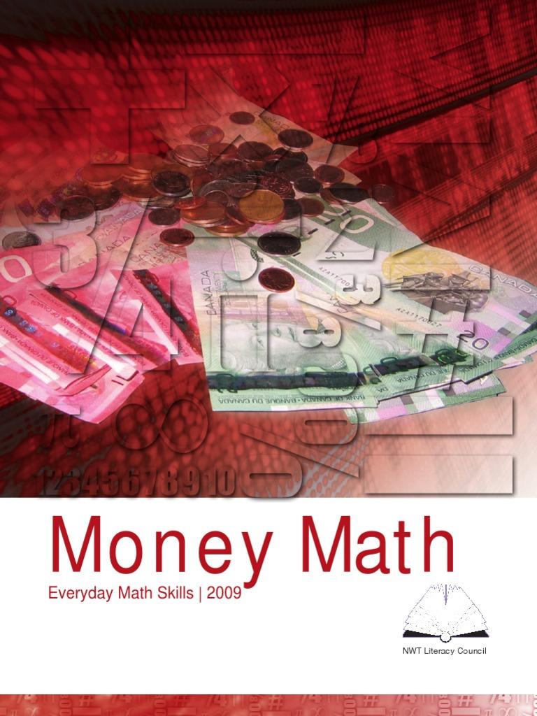 Money Math Workbook | Interest | Bonds (Finance)