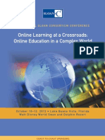 Sloan - C International Conference on Online Learning