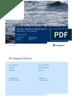 Anholt Offshore Wind Farm - Case Study