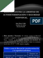 Delitos Contra La Libertad.