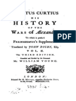 Quintus Curtius Rufus, The History of Alexander the Great