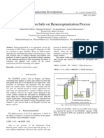 Effect of Sodium Salts on Demercaptanization Process