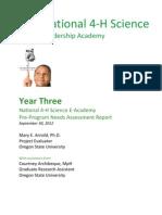 FINAL Needs Assessment Report