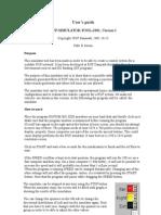 User's guide RUF simulator tool