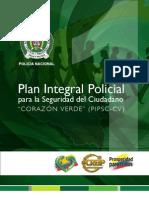 PIPSC - CV LIBRO 1. Plan Integral Policial para la Seguridad del Ciudadano CORAZÓN VERDE (PIPSC-CV)