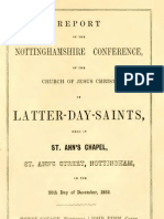 Report of Nottingham Conference