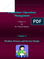 Product,Process Service and Design
