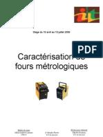 Caracterisation de Fours Metrologiques1