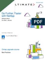 Netapp Upgrade Coursepartner