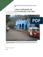 200 Casos de Malaria La Convencion 2011