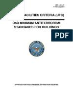 Antiterrorism Stds for Buildings