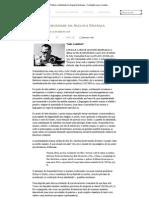 Poética e identidade em Augusto Matraga » Fundação Lauro Campos