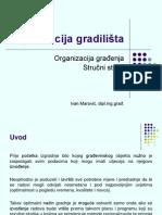 Organizacija gradilista