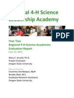 Year Two National 4-H Science Academy Final Report[1]