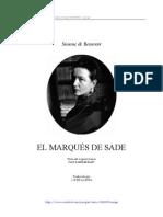 16181324 Beauvoir Simone de El Marques de Sade 1952