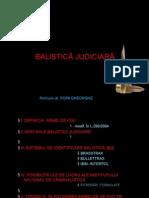 Balistica judiciara - Popa Gheorghe