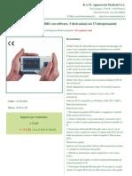 Mini ECG Palmare 180B1 Con Software, 3 Derivazioni Con 17 Interpretazioni (1)