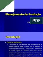 Planejamento e Producao