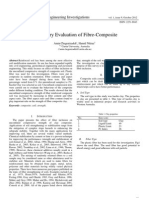 Laboratory Evaluation of Fibre-Composite