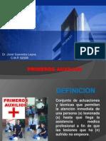 PRIMEROS AUXILIOSS