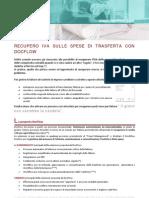 Recupero IVA sulle Spese di Trasferta con DocFlow