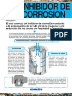 Manual Inhibidor Corrosion Equipos Komatsu