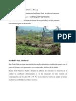 Urgen Construir en Zona Sureste de San Pedro Sula, No Solo en La Noreste