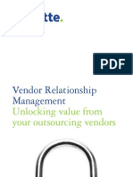 Deloitte DK Vendor Relationship Management