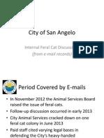 City Feral Cat PI Request Slides