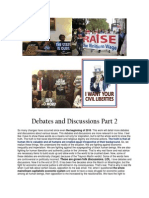 Debates and Discussions Part 2